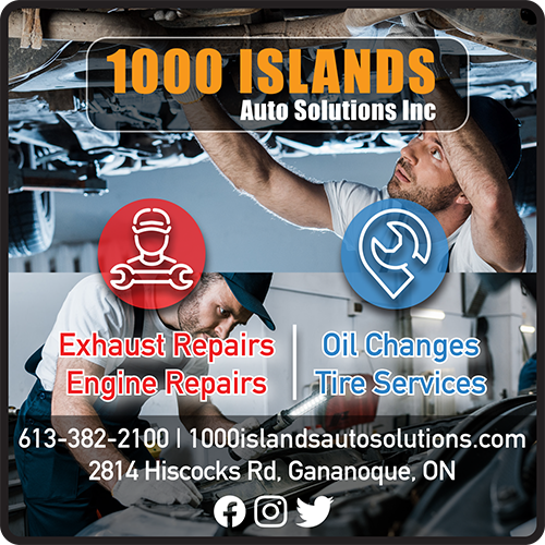 1000 Islands Auto Solutions Inc - BAG-FD-GAN-ON-1