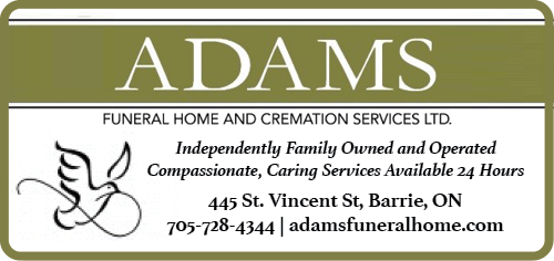 Adams Funeral Home And Cremation Services Ltd BAG-HH-MIN-BAR-ON-2C