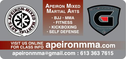Apeiron Mixed Martial Arts - BAG-FD-CORN-ON-1