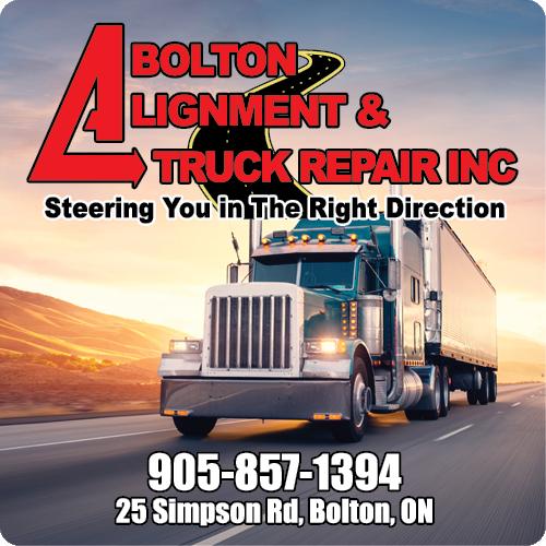 Bolton Alignment & Truck Repair Inc - BAG-ULHH-BOL-ON-2