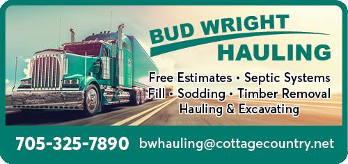 Bud Wright Hauling BAG-YIG-BEAV-ON-1