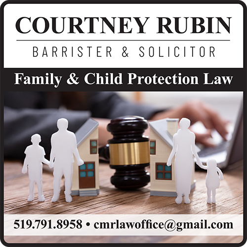 Courtney Rubin -Barrister and Solicitor - BAG-FD-ESSEX-ON-1
