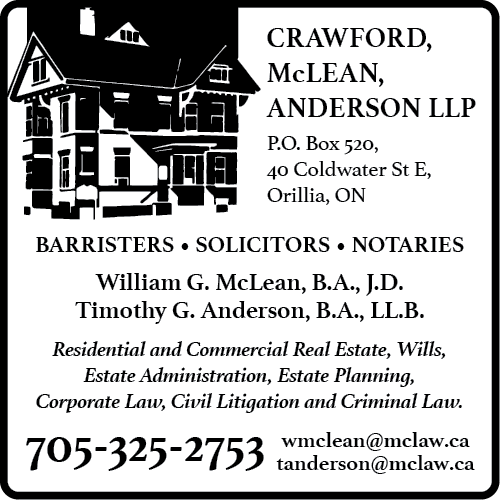 Crawford, McLean & Anderson LLP BAG-HH-KING-ORIL-ON-2
