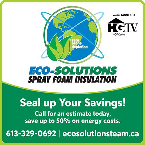 Eco-Solutions Spray Foam Insulation - BAG-FD-GAN-ON-1