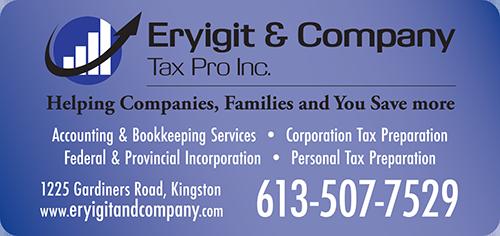 Eryigit and Company Tax Pro Inc - BAG-FD-GAN-ON-1