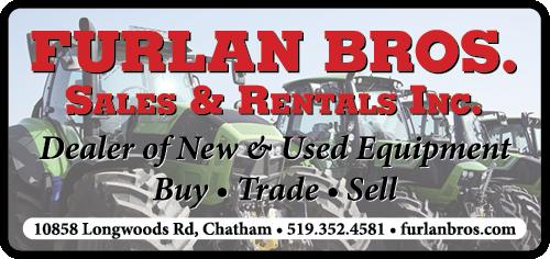 Furlan Bros. Sales & Rental Equipment BAG-FD-CK-ON-1