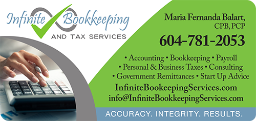 Infinite Bookkeeping Services - BAG-FD-MAPLE-BC-1