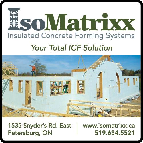 IsoMatrixx Insulated Concrete Forms - BAG-HH-SJ-ON-2