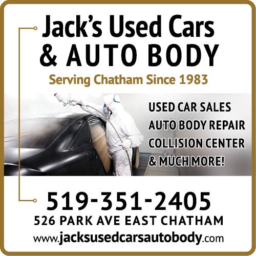 Jack's Used Cars & Auto Body - BAG-FD-CK-ON-1