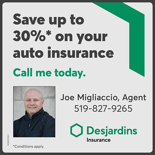 Joseph Migliaccio - Desjardins Insurance BAG-FD-GUEL-ON-1