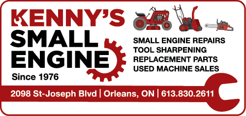 KENNY'S SMALL ENGINE REPAIRS - BAG-HH-CHAR-OR-ON-3