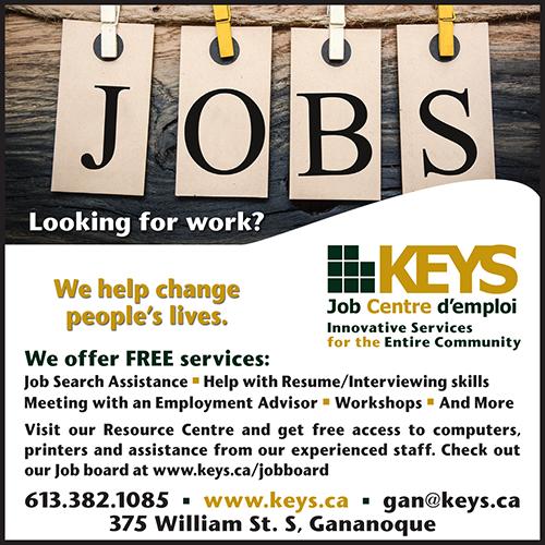 Keys Job Centre BAG-FD-GAN-ON-1