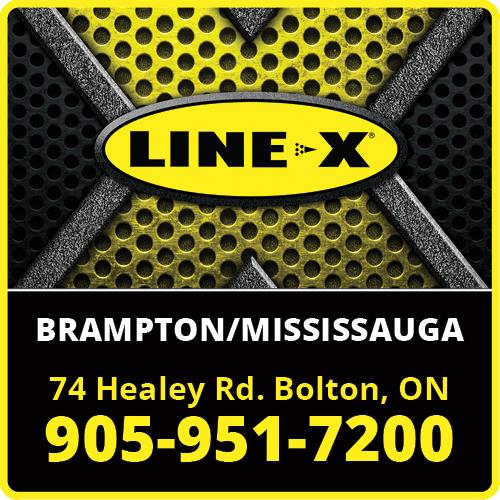 LINE-X Brampton:Mississauga BAG-ULHH-BOL-ON-2
