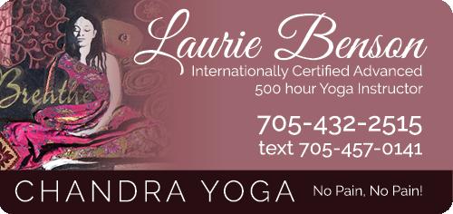 Laurie Benson's Chandra Yoga - BAG-YIG-BEAV-ON-1