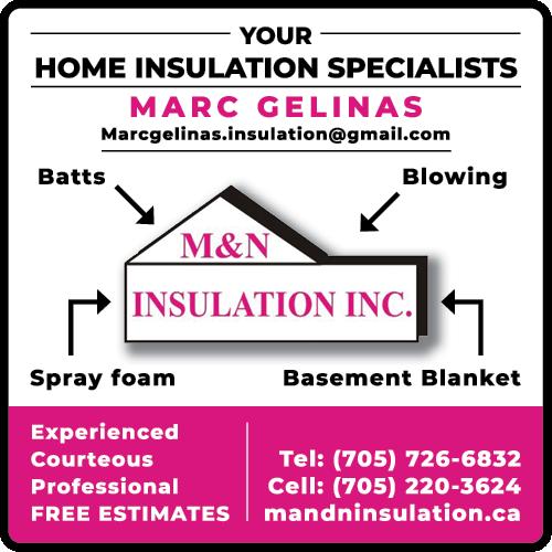 M & N Insulation Inc. BAG-HH-MIN-BAR-ON-2C
