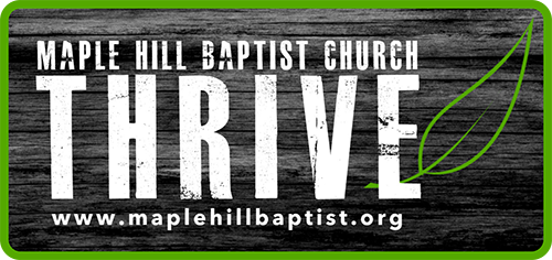 Maple Hill Baptist Church BAG-FD-GEORG-ON-1
