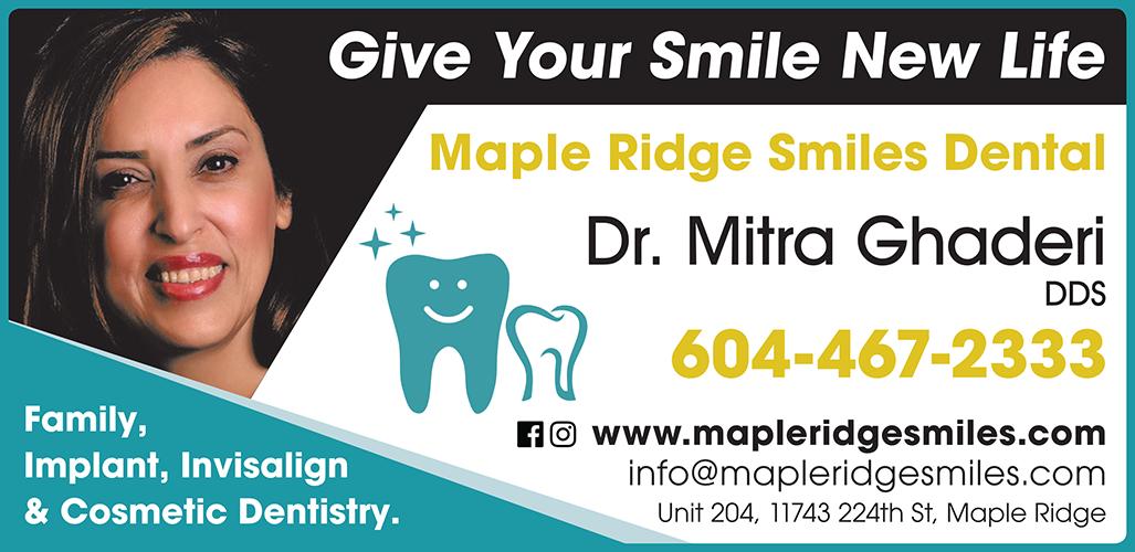 Maple Ridge Smiles Dental - BAG-FD-MAPLE-BC-1