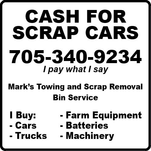 Marks Towing & Scrap Removal BAG-YIG-BEAV-ON-1