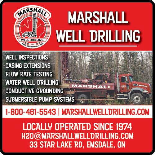 Marshall Well Drilling - BAG-YIG-HUNTS-ON-1