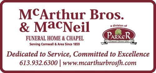 McArthur Bros. & MacNeil Funeral Home & Chapel - BAG-FD-CORN-ON-1