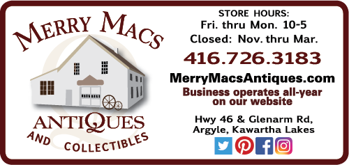 Merry Macs Antiques and Collectibles - BAG-YIG-BEAV-ON-1-01