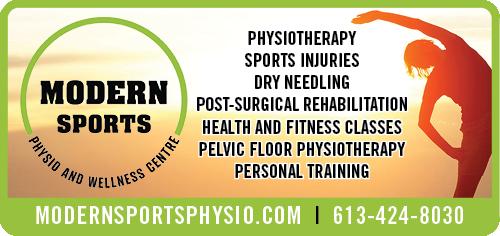 Modern Sports Physio & Wellness BAG-HH-CHAR-OR-ON-3