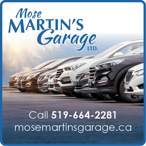 Mose Martin's Garage BAG-HH-SJ-ON-2