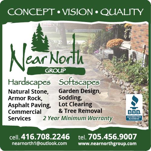 Near North Design-Build Landscaping BAG-HH-IBRD-INN-ON-2C