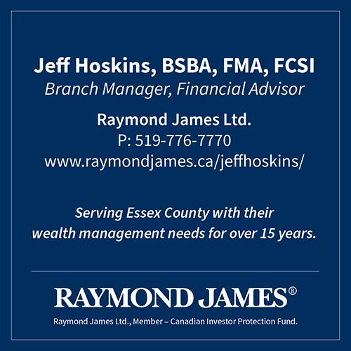 Raymond James Ltd - Jeff Hoskins - BAG-FD-ESSEX-ON-1