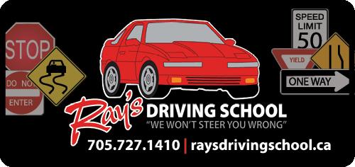 Ray's Driving School - BAG-HH-MIN-BAR-ON-2C