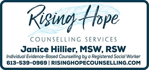 Rising Hope Counselling Services BAG-FD-GAN-ON-1