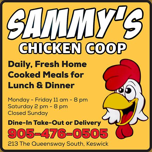Sammy's Chicken Coop - BAG-FD-GEORG-ON-1