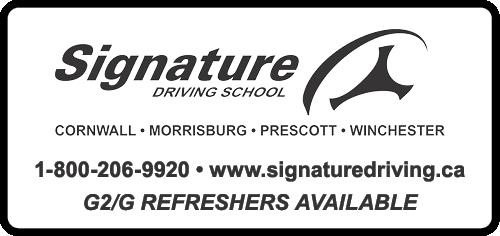 Signature Driving School BAG-FD-CORN-ON-1