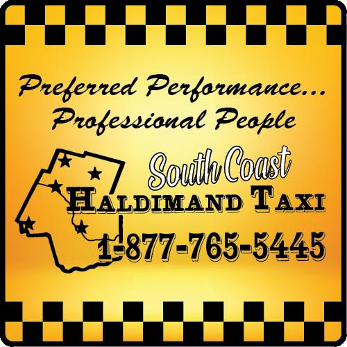 South Coast Haldimand Taxi BAG-HH-CAY-ON-1