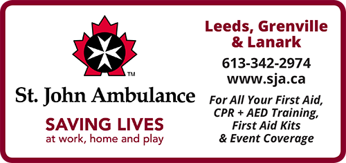 St.John Ambulance Leeds, Grenville & Lanmark Branch BAG-FD-GAN-ON-1