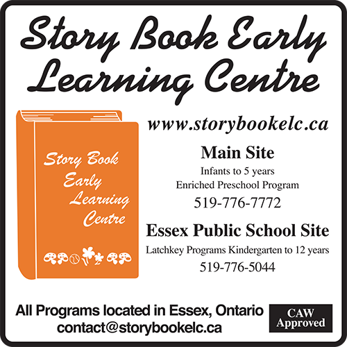 Story Book Early Learning - BAG-FD-ESSEX-ON-1