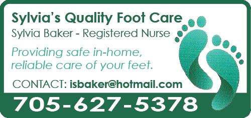 Sylvia's Quality Foot Care BAG-HH-IBRD-INN-ON-2C