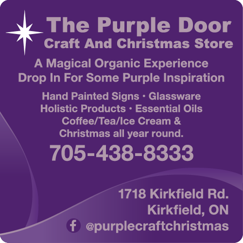 The Purple Door Craft & Christmas Store - BAG-YIG-BEAV-ON-1