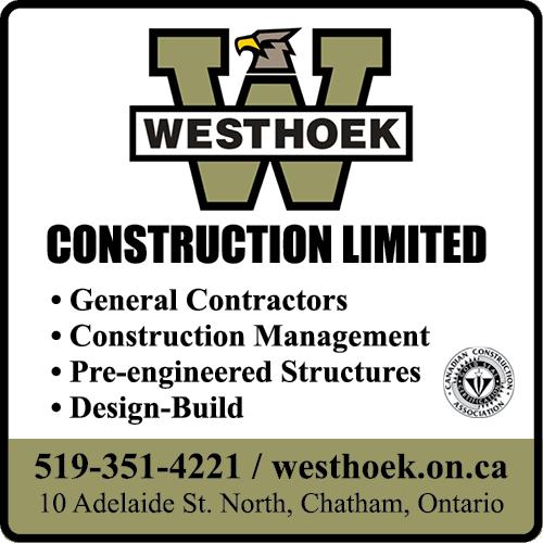 Westhoek Construction Limited - BAG-FD-CK-ON-1